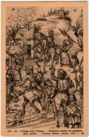 5THKS 111 CPA - PILLAGE D'UN VILLAGE - VIOLENCES CONTRE LES PAYSANS - FERNAND NATHAN - Postkaarten
