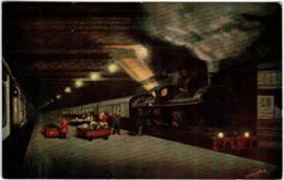 5THKS 538 LONDON  AND NORT WESTERN RAILWAY - IRISH MAIL EUSTON STATION - Trains