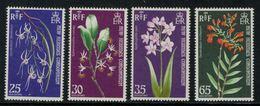 New Hebrides // 1960-1980 // 1972 // Orchidées Timbres Neufs** MNH No. Y&T 362-365 - Légende Anglaise