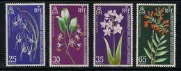 Nouvelles Hébrides // 1960-1980 // 1972 // Orchidées Timbres Neufs** MNH No. Y&T 358-361 - Légende Française