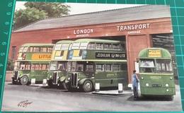 Windsor Garage ~ London Transport - Buses & Coaches