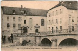 51gt 926 CPA - ORNANS - LE SEMINAIRE ET LE PONT SUR LA LOUE - Autres Communes
