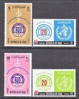 IRAQ  479- 82   *    W.H.O. - Iraq
