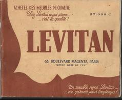 Catalogue LEVITAN (25èm édition)  Chez Lévitan Ce Qui Prime ...c'est La Qualité ! 63 Boulevard Magenta PARIS..... - Home Decoration