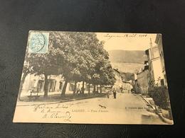 LAGNIEU Place D'Armes - 1906 Timbrée - France