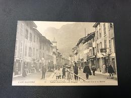 44 - L'AIN ILLUSTRÉ - SAINT RAMBERT EN BUGEY La Grande Rue Et La Mairie - France