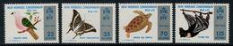 New Hebrides // 1960-1980 // 1974 // Protection De La Vie Sauvage Timbres Neufs** MNH No. Y&T 382-385 - Légende Anglaise