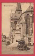 Ham-sur-Heure - Le Monument Aux Morts Pour La Patrie ... Canons, Obusiers - 1927  ( Voir Verso ) - Ham-sur-Heure-Nalinnes