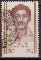 India Used 1983, Hemu Kalani  (sample Image) - Oblitérés