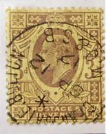 EDOUARD VII 1902/10 - OBLITERE - YT 111 - DENTELE 14 - 1902-1951 (Kings)