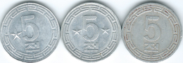 North Korea - 5 Chon - 1959 - General & 1974 - Capitalist & Socialist Visitors Issues - (KMs 2, 6 & 10) - Korea, North