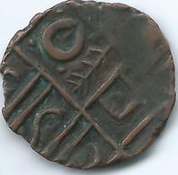 Bhutan - ½ Rupee / Ma-tam - Period III (1835-1910) - KM7.6 (branch) - Bhutan