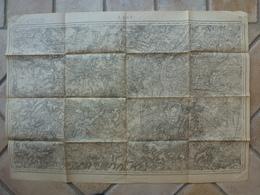Carte Laon 02 Aisne Sempigny Bruyères Sous Marcel Vaux Saint Vally Clacy - Cartes Topographiques