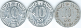 North Korea - 10 Chon - 1959 - General, Capitalist & Socialist Visitors Issues - (KMs 3, 7 & 11) - Korea, North