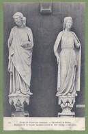 CPA - MUSÉE DE LA SCULPTURE COMPARÉE - STATUES DE LA FACADE  - CATHÉDRALE DE REIMS - N° 544 - Sculptures