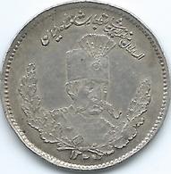 Iran - Mozaffar Al-Din - 500 Dinar - AH1323 (1905) - KM977 - Iran