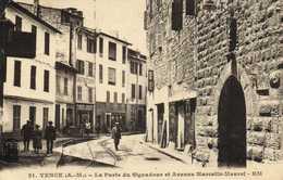 VENCE La Porte Du Signadour Et Avenue Marcelin Maurel RV  RV - Vence