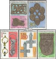 Tchécoslovaquie 1898-1902 (complète.Edition.) Oblitéré 1969 Archéologie - Cecoslovacchia