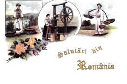 [MD3172] CPM - ROMANIA - SALUTI - Non Viaggiata - Romania