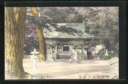 AK Kobe, Hachiman Temple - Kobe