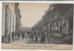 59-11349  -    BAILLEUL       -    LA RUE  DU MUSEE  , MAISON  ANCIENNE . - France