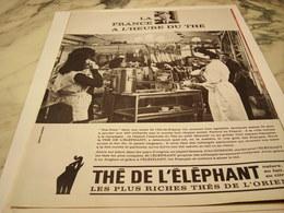 ANCIENNE PUBLICITE THE DE L ELEPHANT  1966 - Affiches