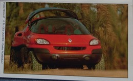 Petit Calendrier De Poche 1997 Voiture Renault - 4 Volets - Calendriers