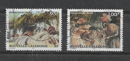 NOUVELLE-CALEDONIE  Yvert  PA N° 329 Et 330  Oblitérés DANSES KANAK-OUARE Et KANAK-POTHE - Neukaledonien