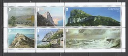 VV886 GIBRALTAR VIEWS NATURE ARCHITECTURE BL133 !!! MICHEL 14 EURO !!! 1BL MNH - Holidays & Tourism