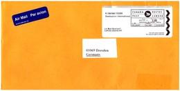 Kanada / Canada:  'Barfreimachung International, 2019' / 'Cash-paid Label' - Storia Postale