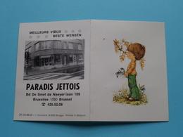 PARADIS JETTOIS Smet De Naeyer Brussel ( 1980 ) ZK 03.06.02 Houtland Brugge ( See Photo ) ! - Calendars
