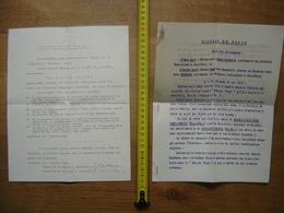 1934 Ancien Acte Promesse Contrat Vente Neuchatel SUISSE Maison D'Arts NEUHAUS - Suisse
