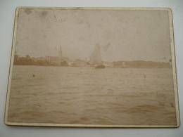 Temse Foto Van Rond 1880 9 Op 12 Cm Harde Versie Blanco Achterzijde - Photos