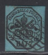 Etats Pontificaux 1852 Yvert 8 (o) B Oblitere(s) - Etats Pontificaux