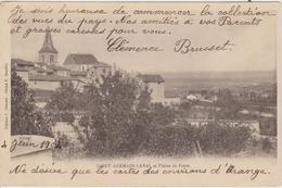 LOIRE -  SAINT GERMAIN LAVAL Et Plaine Du Forez  ( - Carte  Pionnière Avec Timbre à Date De 1904 ) - Saint Germain Laval