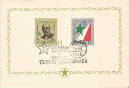 Polen Polska Poland 1959 Zamenhof - Esperanto