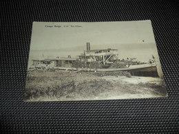 "Congo Belge ( 81 )  Belgisch Kongo  :   S / W  "" Roi Albert ""  Bateau  Boot - Belgian Congo - Other"