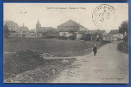 DAINVILLE   Entrée Du Village    Animées    écrite En 1919 - Francia