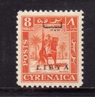 LIBIA LIBYA 1951 REGNO INDIPENDENTE EMISSIONE PER LA CIRENAICA CYRENAICA 8m MLH - Libia
