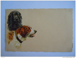 2 Chiens 2 Honden Degami 656 Circulée Gelopen 1923 - Hunde