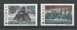 NORUEGA YVERT 1053/54   MNH  ** - Noruega