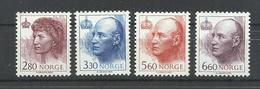 NORUEGA YVERT 1041/44    MNH  ** - Noruega