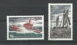 NORUEGA YVERT 1023/24    MNH  ** - Noruega
