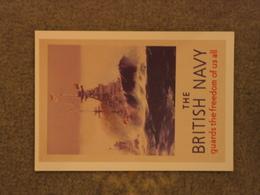 BRITISH NAVY POSTER - MODERN - Warships