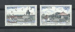 NORUEGA YVERT 1021/22    MNH  ** - Noruega
