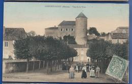 GONDRECOURT   Vue De La Tour       écrite En 1904 - France
