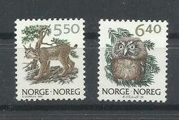 NORUEGA YVERT 1016/17    MNH  ** - Noruega