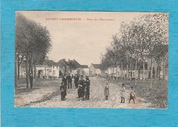 Gevrey-Chambertin. - La Place Des Marronniers. - Gevrey Chambertin