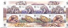 2017. Tajikistan, WWF, Wild Cat Manul, Sheetlet Perforated, Mint/** - Tadschikistan