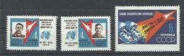 RUSIA YVERT 2550/52      MNH  ** - 1923-1991 URSS